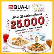 Qua Li Promo Mahasiswa Rp 25.000 di Jember Town Square (24089211) di Kab. Jember