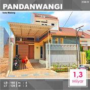 Rumah 2 Lantai Luas 129 Di Pandanwangi Sulfat Kota Malang _ 548.19 (24089499) di Kota Malang