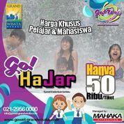 Go! Wet Grand Wisata Go Hajar Promo Mahasiswa Dan Pelajar