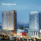 Apartemen Skandinavia 2 BR Siap Huni Tangerang
