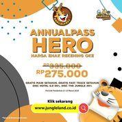 JungleLand Annual Pass HERO Harga Enak Rekening Oke 275.000