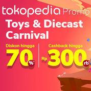 Tokopedia Promo Toys & Diecast Carnival Cashback hingga Rp300.000 (24126371) di Kota Jakarta Selatan