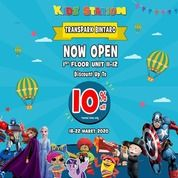 Kidz Station Grand Opening 10% Off