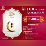 Alfa Tours Promo Umrah Akhir Ramadhan Mei 2020