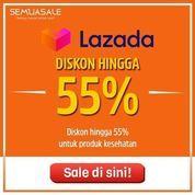 Lazada Diskon HIngga 55% Produk Kesehatan