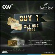 CGV Promo Diskon Bank BJB Beli 1 Gratis 1