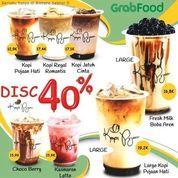 Kopi Pujaan Disc 40% Grabfood (24143099) di Kota Tangerang Selatan