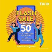 Tix.id Flash Sale Diskon 50%