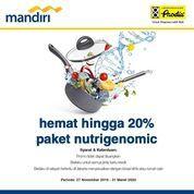 Prodia Promo Bank Mandiri Hemat hingga 20% Paket Nutrigenomic