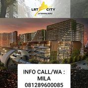 APARTEMEN LRT CITY GATEWAY PARK JATICEMPAKA PONDOK GEDE KOTA BEKASI (24150951) di Kota Bekasi