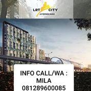 GATEWAY PARK LRT CITY APARTEMEN TYPE STUDIO 26 CITY VIEW JAKARTA (24150987) di Kota Bekasi