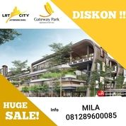 GATEWAY PARK LRT CITY APARTEMEN MURAH BISA DP 10% SIAP HUNI STUDIO BEKASI (24151083) di Kota Bekasi
