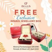 Dparis Free Exclusive Jewellery Box