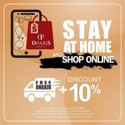 Dparis Stay At Home Shop Online Disc. 10%