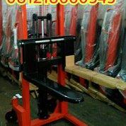 Hand Stacker 2ton/1.6meter / Hand Lift / Hand Pallet / Hand Forklift / Tangga / Jek / Jack (24205883) di Kota Jakarta Barat