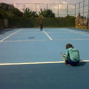 Spesialis Lapangan Tenis Granit, Fleksipave, Hotmix, Gravel, Vinyl dll