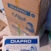 Masker Hijab Diapro 1karton Isi 40box Rp.2.500.000