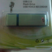 Voice Recorder Flashdisk Perekam Suara 8 Giga Internal (verified seller)
