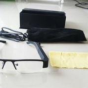 Spy Glasses kamera 720P HD High Resolution Hitam