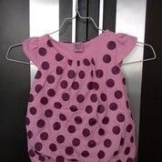 Dress Pink Polkadot Preloved