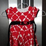 Dress Merah Garis Putih Preloved (24479379) di Kota Medan