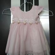Dress Pink Renda Preloved (24480427) di Kota Medan