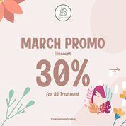 Various Beauty Salon Diskon 30% All Treatment Maret 2020