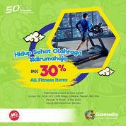 Gramedia All Fitness Item Diskon 30% 12 Maret - 3 Mei 2020