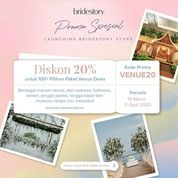 The BrideStory Promo Launching Bridestory Store