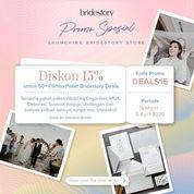 The BrideStory Promo Diskon 15% Paket Bridestory Deals
