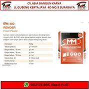 Mortar MM-400 Finish Plaster 50Kg + Jasa Pasang (Harga Sendiri)