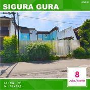 Tanah Kavling Luas 152 Di Sigura Gura Kota Malang _ 145.20