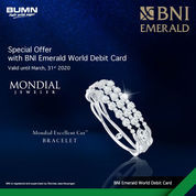 Special Offer Mondial, Frank & Co., The Palace & Miss Mondial with BNI Emerald World Debit Card