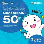 Codashop Cashback s/d 50% BIGO LIVE