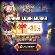 Codashop Promo Top Up Diamond Mobile Legends