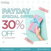 Kadoqu Payday Special Offer