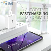 XO Auto Charge USB Fast Charging Quick Charge 3.0 5V 3A - Micro USB