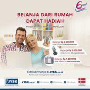 JYSK Furniture Kode Promo Belanja dari Rumah Dapat Hadiah