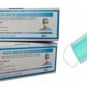 Masker Earloop (Pengait Telinga) Golden Glove