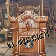Mimbar Masjid Madura Mewah (24853111) di Kab. Jepara