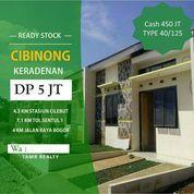 Cluster Premium Tanah Luas DP Hanya 5 Juta Di Cibinong