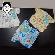 Grosir Murah Baju Bayi Lengan Pendek Paket 3 Pcs Merek Libby Kualitas Bagus. (24922579) di Kota Jakarta Selatan