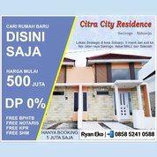 Ready Stock Citra City 0 Jalan Raya DP 0% Free Biaya (24967187) di Kab. Sidoarjo