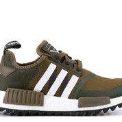 adidas NMD R1 Trail White Mountaineering Trace Olive - US size 10
