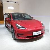 Brand New Ready Stock 2020 Tesla Model 3 Red On Black