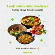 Wakuliner Frozen Food, Praktis Dan Higienis! HANYA Rp 13.000/Menu