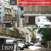 Ruko Boutique Office Park, Kemayoran, Jakarta Pusat, 4,7x16m, 4 Lt, HGB (25045083) di Kota Jakarta Pusat