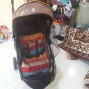 Stroller Pliko Milano Roda 3 Plus Anti Nyamuk (25046379) di Kota Surabaya