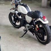 Motor Tiger Revo Costum Caferacer