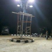 Lampu Jalan PJU Tenaga Surya All In One Dan Two In One 20 30 40 50 60 80 Watt Sulawesi Maluku Papua
